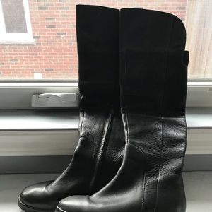 Cole Han leather boots size 5B